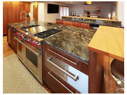 granite countertop rotary oven wall cabinet with drawers