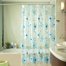 Bathroom Plastic Curtains Plastic Curtains For Bathroom Home Design Ideas And Pictures