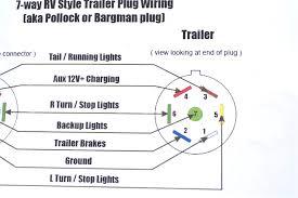 wiring diagrams 7 blade trailer plug 4 prong 5 pin bright diagram