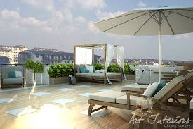 penthouse design penthouse terrace for raul interior design the art interiors