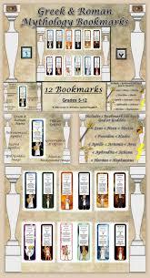 greek u0026 roman mythology bookmarks roman mythology mythology and