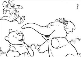 winnie pooh lumpy roo coloring pages hellokids