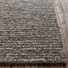 wool rug hand woven new zealand wool rug shades of light