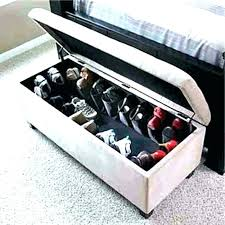 bedroom storage ottoman bedroom shoe storage tarowing club