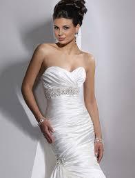 satin wedding dresses maggie sottero