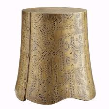 Brass Side Table Emperor Brass Side Table Global Home