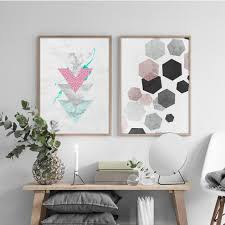 Nordic Home Compare Prices On Geometry Art Online Shopping Buy Low Price