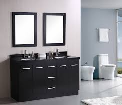 bathroom cozy tile flooring with dark lowes bathroom vanities and