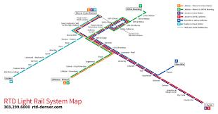 Denver Maps Quick Redesign Denver Rtd Light Rail Isometric Map My Transit
