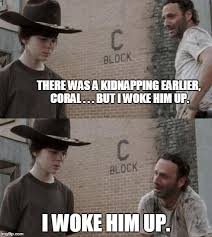 Walking Dead Meme Carl - 30 things you probably didn t know about friends dad jokes