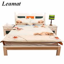 breathable sheets 3 pcs bed sheets set summer super cool folding leather bed