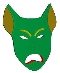 green goblin head 3d model cgtrader