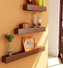 Home Decor Discount by Decorating Natural Wood Wall Shelves At Home Depot Custom