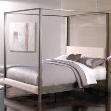 modern canopy queen metal bed multiple colors walmart com fancy queen size modern metal platform canopy bed frame with upholstered