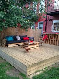 best 25 pallet patio decks ideas on pinterest pallet patio