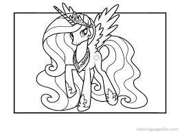 princess celestia inside coloring pages itgod me