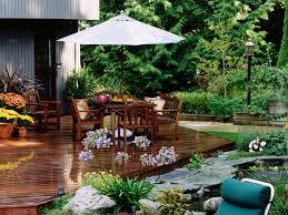 triyae com u003d backyard deck ideas ground level various design