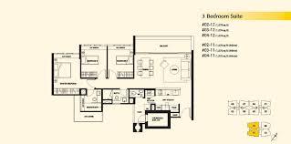 residence floor plan 3 bedroom suite dukes residences
