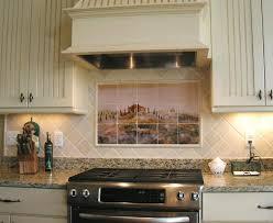 Ceramic Tile Kitchen Backsplash by White Ceramic Subway Tile Backsplash Great Home Decor Ceramic