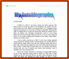 resume for student teachers exles of autobiographies 7 autobiography exle for college students legal resumed
