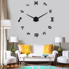 interior items for home aliexpress com buy diy wall clock modern interior large
