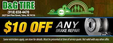 auto repairs tires u0026 alignments d u0026 g tire u0026 wheel tulsa ok