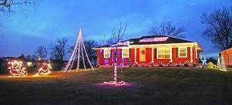 American Flag Christmas Lights Christmas Lights Keeps Mercer Man A U0027kidd U0027 At Heart U2013 The