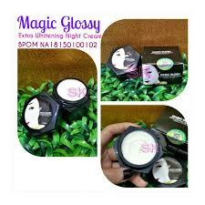 Wajah Magic Glosy magic glossy whitening original wikiprice