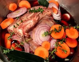 cuisiner le sanglier avec marinade carré de sanglier rôti