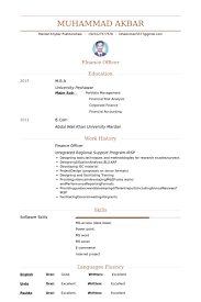 Accounts Officer Resume Sample by Finance Officer Resume Samples Visualcv Resume Samples Database