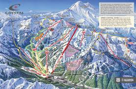 Mt Snow Trail Map Ski Resort Directory Crystal Mountain Ski Resort Mountain Stats