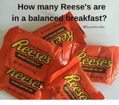 Reeses Meme - how many reese s are in a balanced breakfast milk chocolate milk