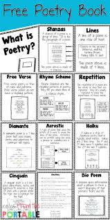 how to teach poetry even if you it anchor charts literacy