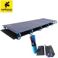 Camping Folding Bed New Brs 1 68kg Ultralight Aluminium Alloy Folding Bed Portable Bed