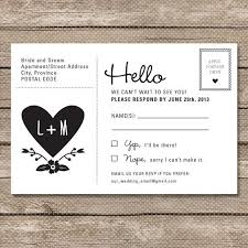 rsvp cards for wedding rsvp postcards wedding magnez materialwitness co