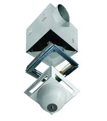 reversomatic residential fans fan light fire damper combo