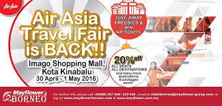 airasia travel fair mayflower airasia travel fair is back travel hotel sale in