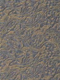 Gray And Gold Leopardi In Dark Blue U0026 Gold Fortuny