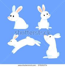 rabbit cartoons 2 stock vector 579193774 shutterstock