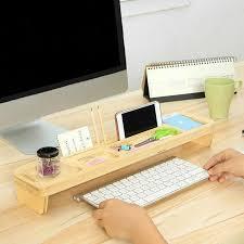 Upright Desk Organizer Wooden Stand Desk Organizer Ichopit