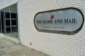 the globe and mail wikipedia