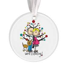 expectant parents ornaments keepsake ornaments zazzle