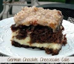 german chocolate cheesecake cake recipe german chocolate