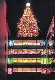 1960 s christmas tree lights atlanta s great tree georgia globe design news