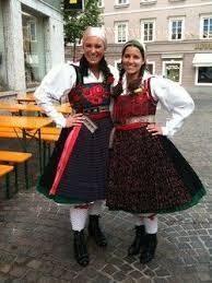 folkcostume slovenian austrian costume of ziljska dolina or