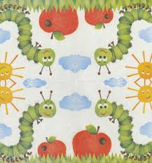 paper napkins decoupage paper napkins of birthday party with a caterpillar sun