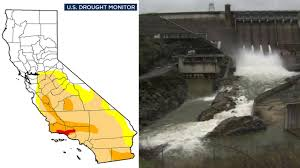 Us Drought Map Rainy Season Helps Get California Out Of Extreme Drought Category