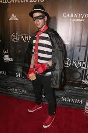 leather jacket halloween costume nick jonas hamburglar costume celebrity halloween costumes