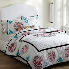 Girls Patchwork Bedding by Suzani Medallion Patchwork Quilt U0026 Sham Pbteen