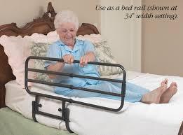 Hospital Bed Rails Ez Adjust Bed Rail North Coast Medical